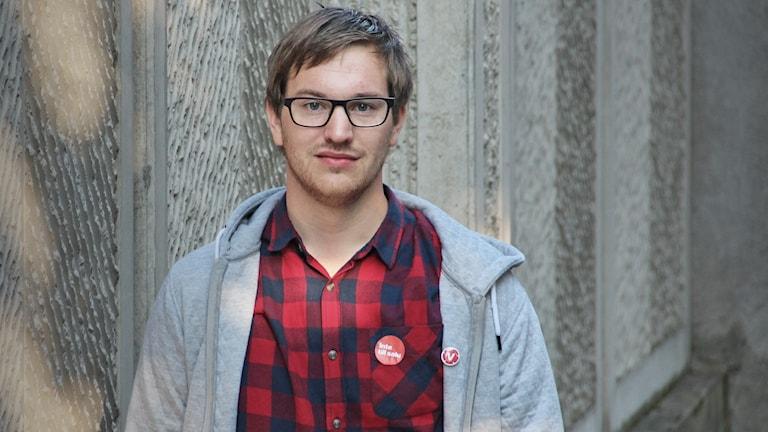 Håkan Svenneling (V).  Foto: Lars-Gunnar Olsson/Sveriges Radio.