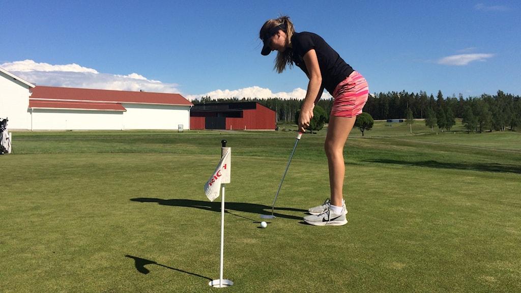 Maia Samuelsson, golfare.