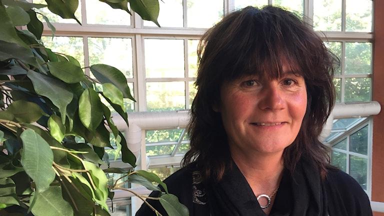 Anette Tallberg som är enhetschef för behandlingsenheten för vuxna i Karlstad kommun