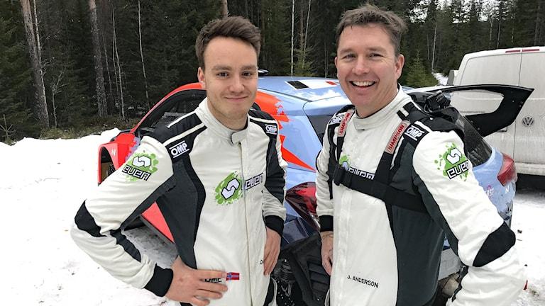 Ole Christian Veiby och Jonas Andersson. Foto: Per Larsson/Sveriges Radio.