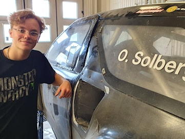 Oliver Solberg ser fram emot helgens VM-deltävling i Estland
