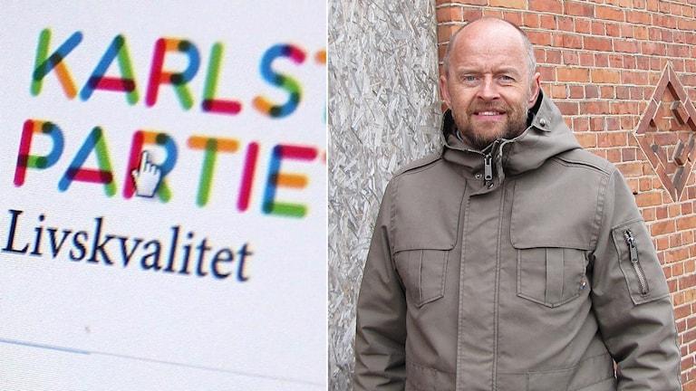 Peter Sörensen. Foto: Skärmdump och Sveriges Radio.