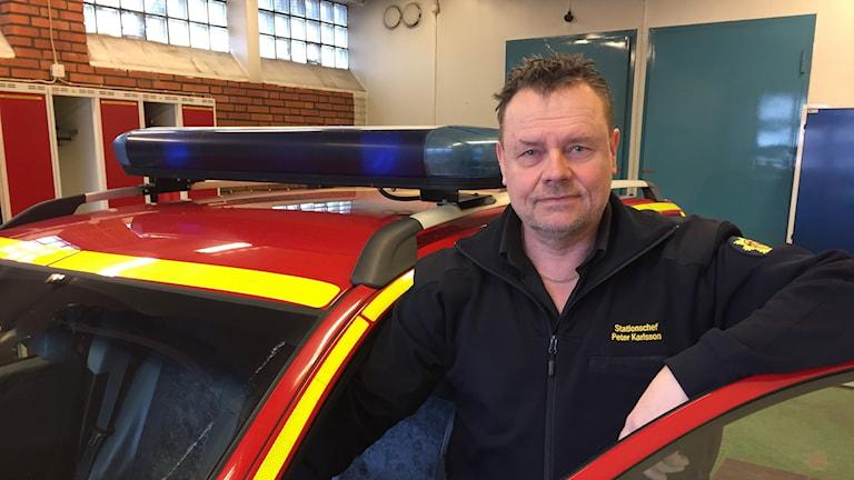 Peter Karlsson. Foto: Tomas Hedman/Sveriges Radio.