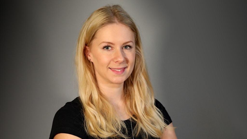 Erika Bergkvist, föreläsare. Foto Örjan Bengtzing/Sveriges Radio.