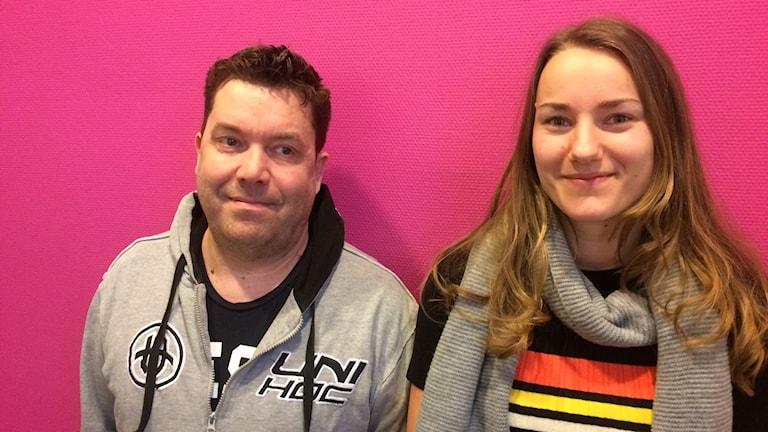 Peter Karlsson och Tilda Flodell
