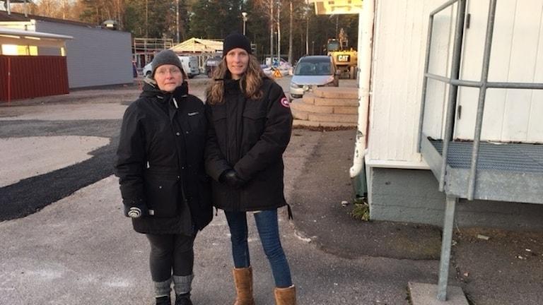 Sofia Fougstedt och Helen Jansson