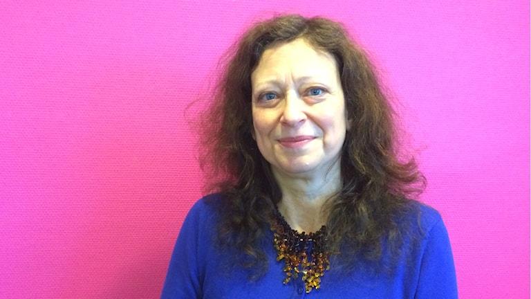 Eva Kingsepp, lektor i medie-och kommunikationsvetenskap vid Karlstads universitet. Foto: Mari Stenström/Sveriges Radio.