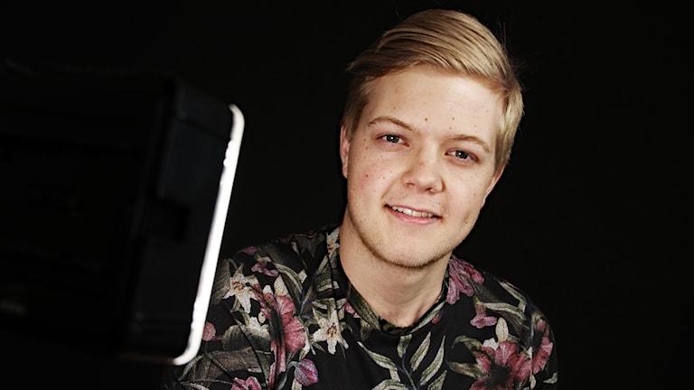 Alex Nilsson. Foto: Lars-Gunnar Olsson/Sveriges Radio.