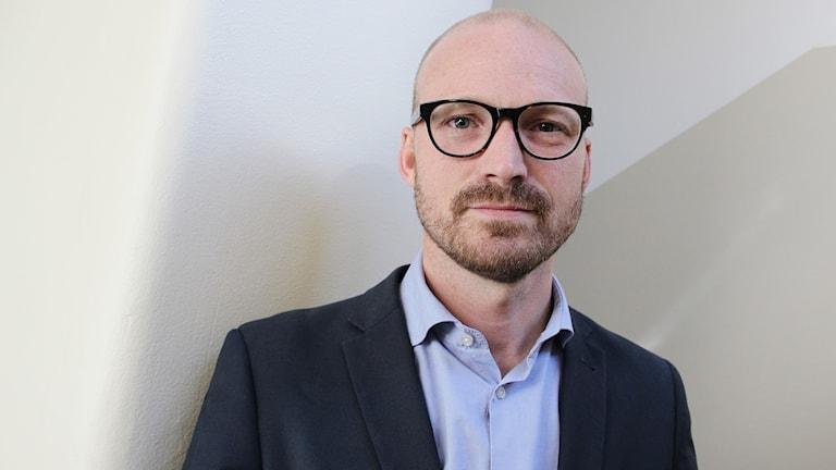 Jonas Jacobsson, vd Visit Värmland. Foto: Lars-Gunnar Olsson/Sveriges Radio.