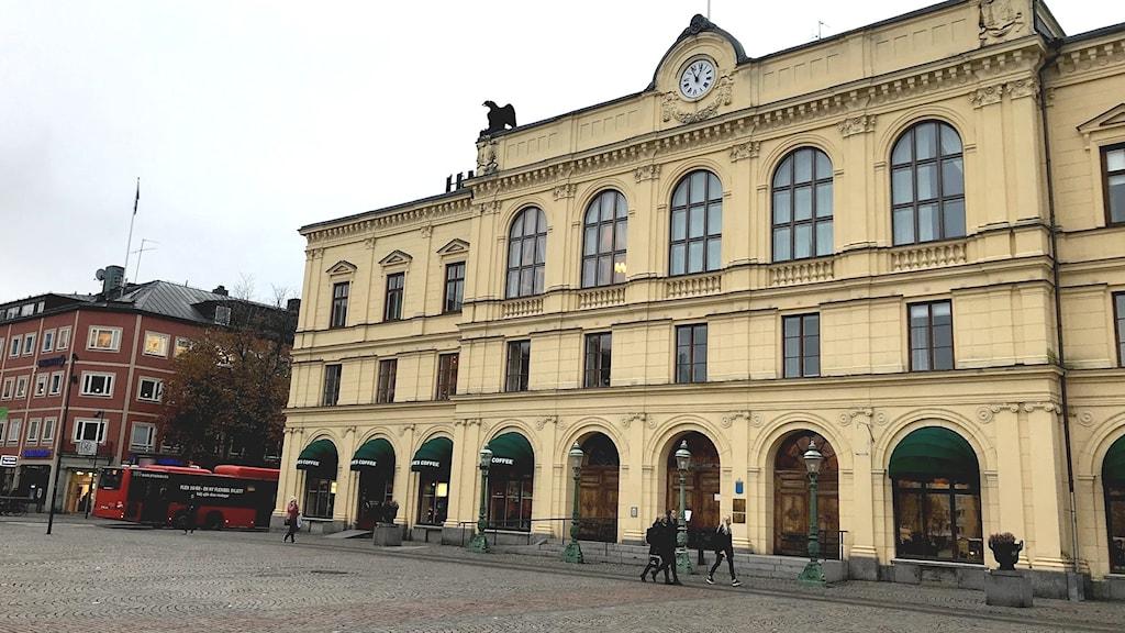 Värmlands tingsrätt. Foto: Annika Ström/Sveriges Radio.