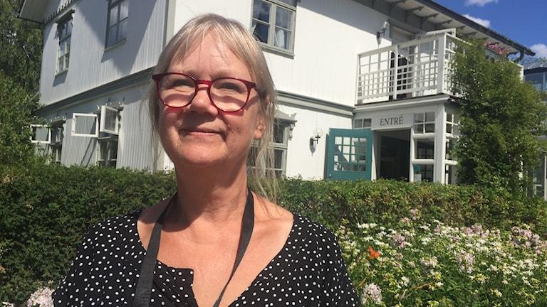 Monika Jansson, museipedagog vid Rackstadmuséet.