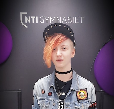 Sam Falkenhem. Foto: Frida Granström/Sveriges Radio