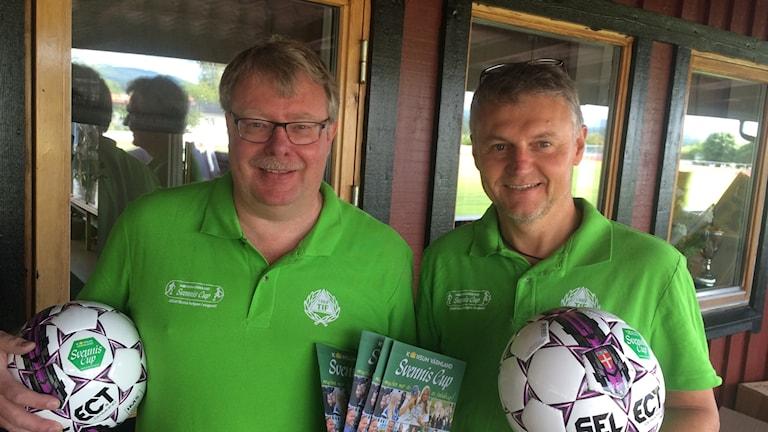 Ronnie Walfridsson och Peter Dahlström