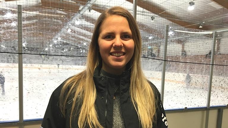 Frida Andersson projektledare Värmlands ishockeyförbund