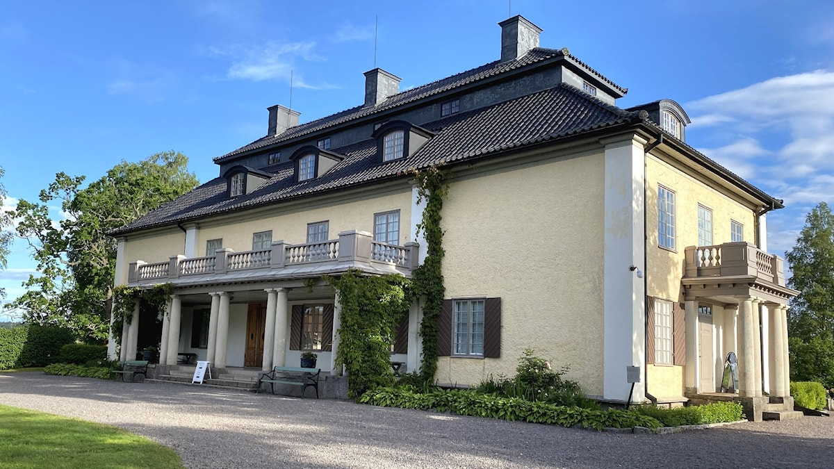Mårbacka minnesgård. Foto: Jonas Berglund/Sveriges Radio.