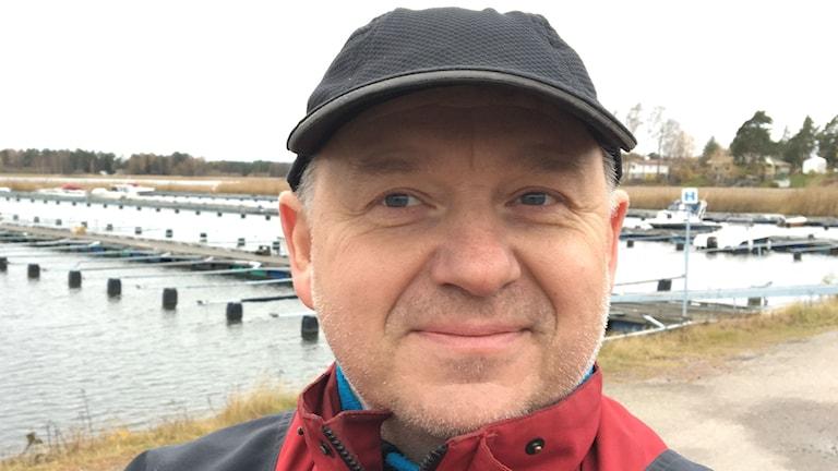 Per Aspengren (S), kommunpolitiker på Hammarö. Foto: Magnus Hermansson/Sveriges Radio.