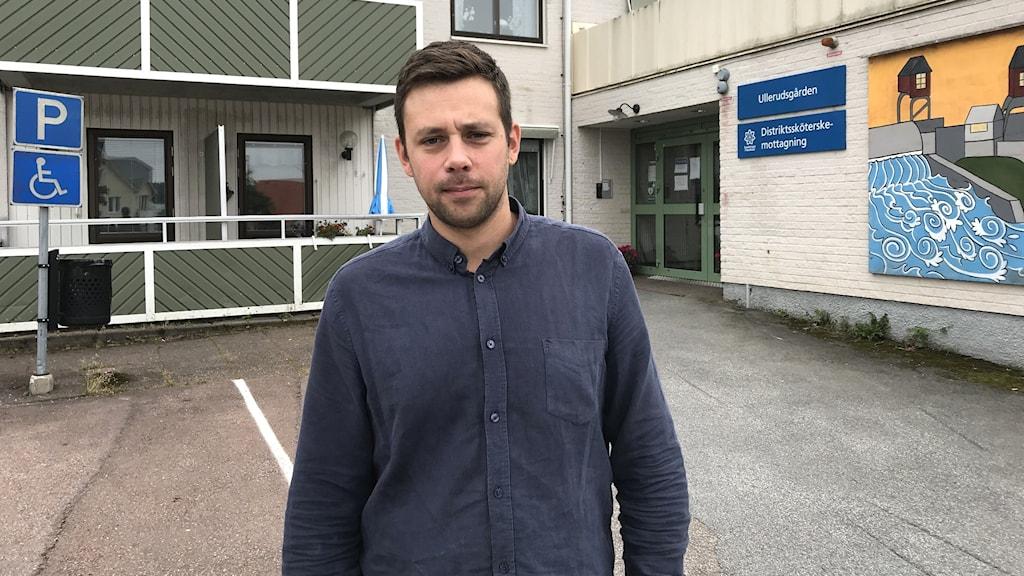 Johan Månsson. Foto: Per Larsson/Sveriges Radio.