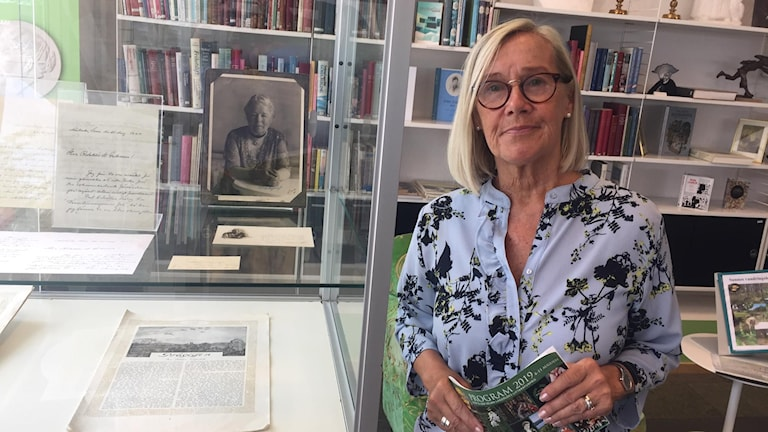 Tuula Dajén, ordförande i Stiftelsen Selma Lagerlöfs Litteraturpris