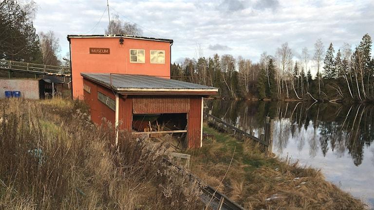 Dyvelstens flottningsmuseum i Forshaga. Foto: Magnus Hermansson/Sveriges Radio.
