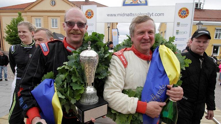 Mats Jonsson, vinnare av Midnattssolsrally 2017