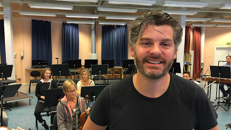 Johannes Gustavsson, chefsdirigent på Wermland Opera.