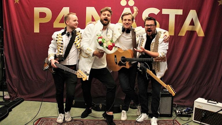 Ett band. Foto: Frida Granström/Sveriges radio