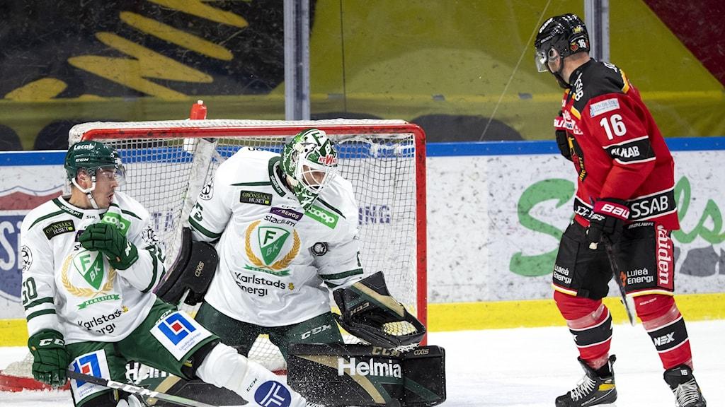 Färjestad spelade mot Luleå, men det blev förlust för Färjestad