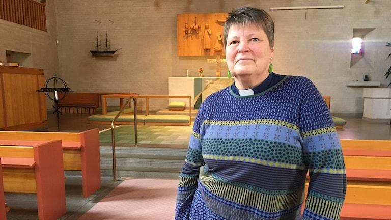 Lena Skoting är kyrkoherde i Säffle pastorat.