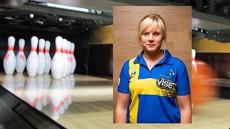 Joline Persson-Planefors. Foto: Sveriges Radio/Bowlingförbundet