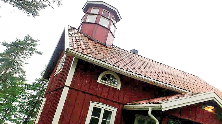 Vandrarhemmet på Lurö. Foto: Bengt Höglind/Sveriges Radio.