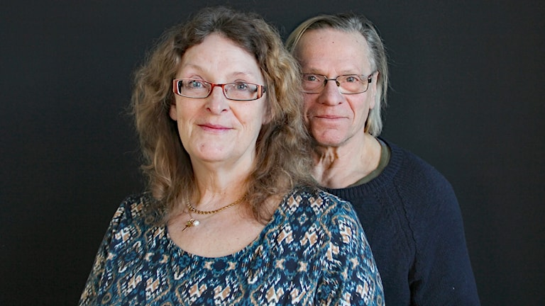 Karin Forsling och Lasse Högberg. Foto: Lars-Gunnar Olsson/Sveriges Radio.