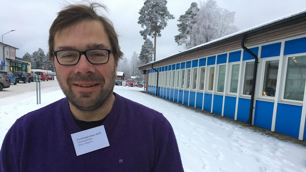 Sven Täppers, tävlingsledare för Finnskogsvalsen.