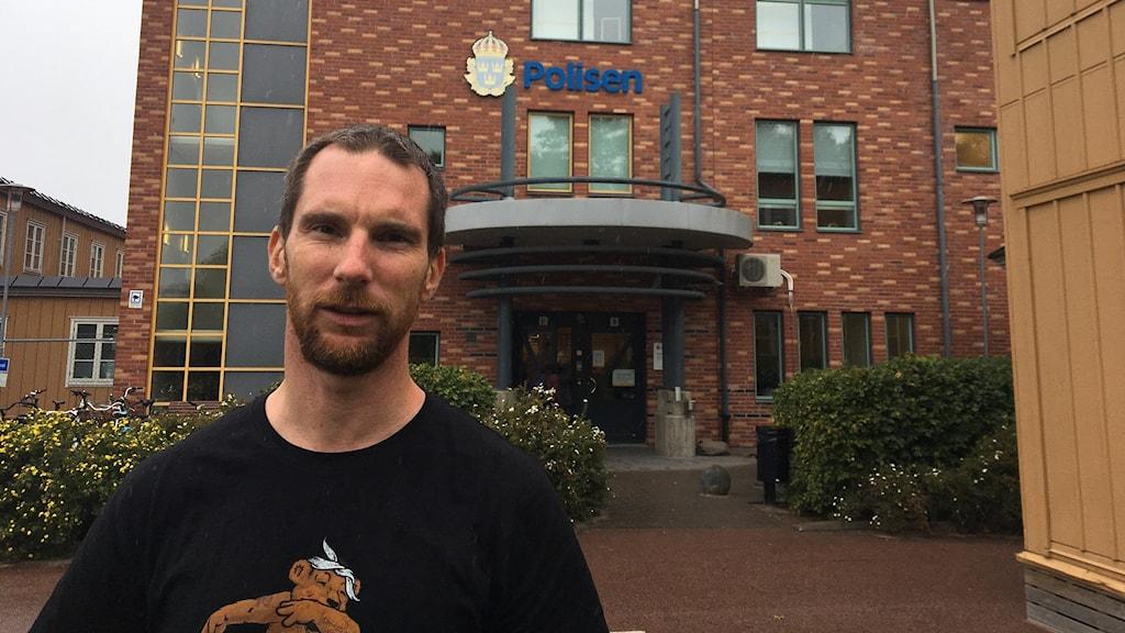 Fredrik Olausson, narkotikapolisen