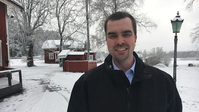 Kommunalrådet Andreas Pettersson (C) i Karlstad är även ordförande för landsbygdsrådet i Karlstads kommun.