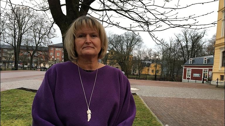 Erna Blom, verksamhetschef för Individ- och familjeomsorgen i Kristinehamns kommun.