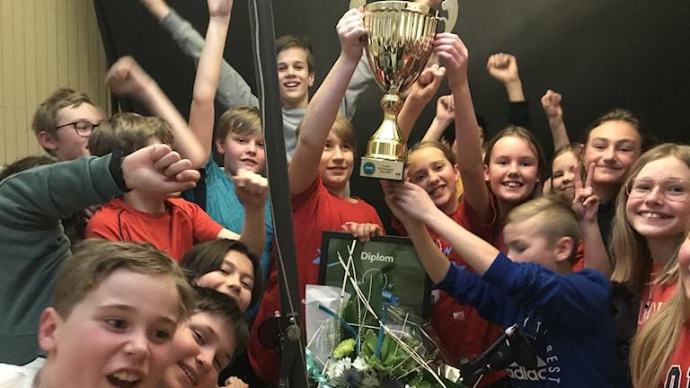 Klass 5C från Engelska skolan tog hem Värmlandsfinalen i Vi i femman.