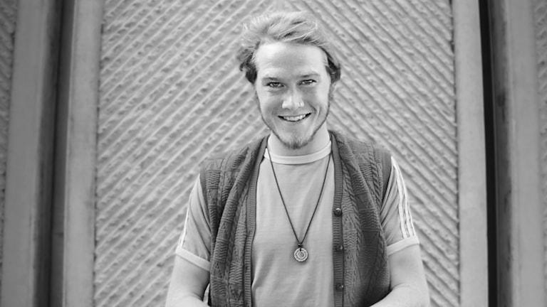 Josef Park, musiker. Foto: Lars-Gunnar Olsson/Sveriges Radio.