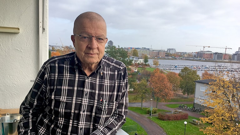 Örjan Arvidsson. Foto: Annika Ström/Sveriges Radio.
