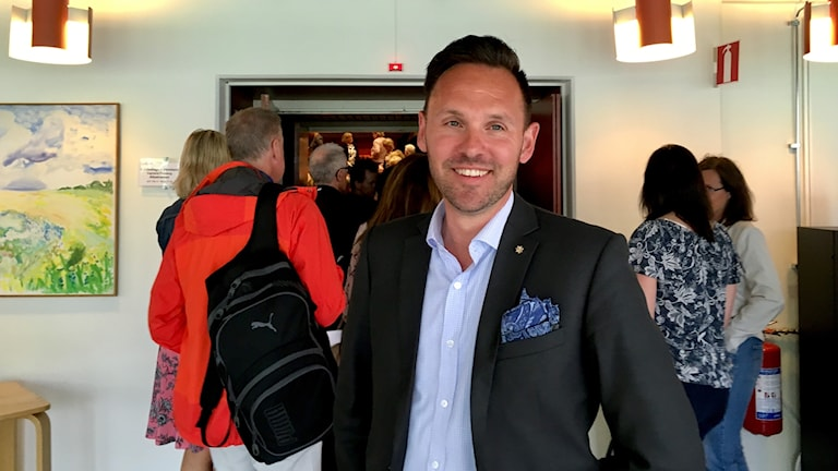mattias karlsson, chef för primärvården Landstinget i Värmland