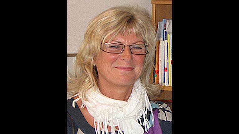 Porträttbild av Cristina Gillå, samordnande sjuksköterska för barnhälsovården i Värmland.