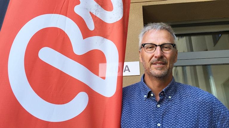 Anders Kjellström, vd Branäs-gruppen. Foto: Robert Ojala/Sveriges Radio.