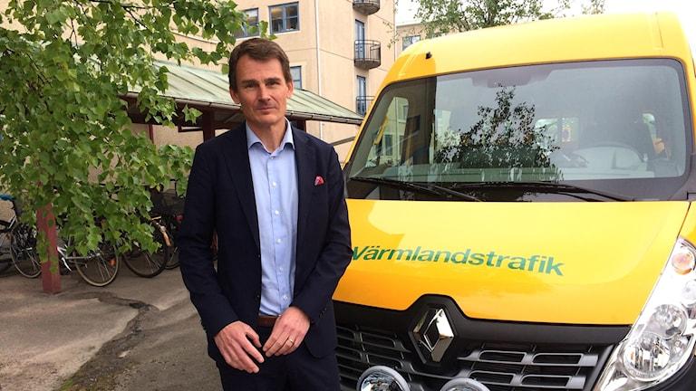 Keolis vd Magnus Åkerhielm  färdtjänst sjuktransporter