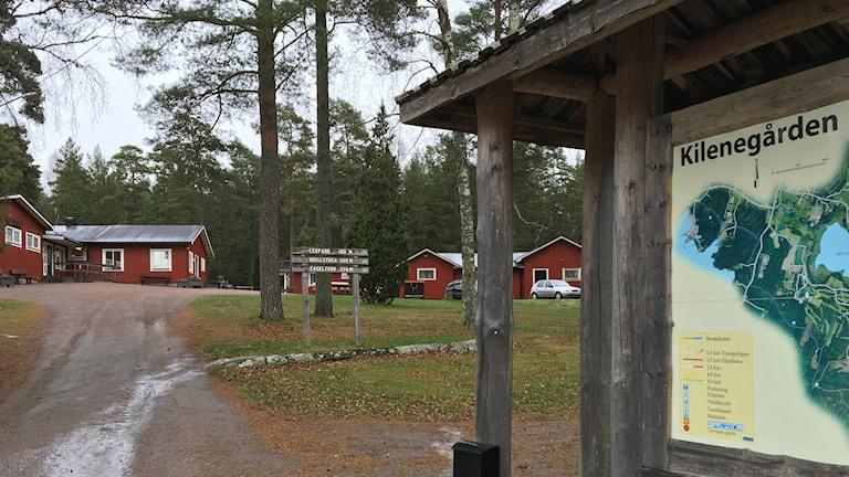 Kilenegården på Hammarö. Foto: Magnus Hermansson/Sveriges Radio.