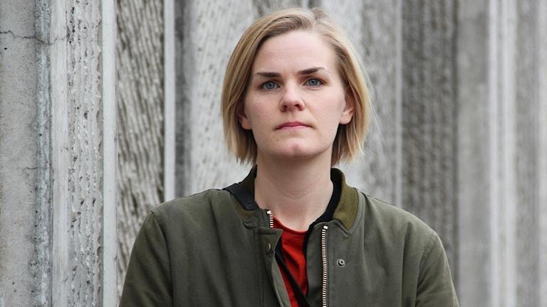 Anna Pettersson, stadsbyggnadsarkitekt. Foto: Lars-Gunnar Olsson/Sveriges Radio.