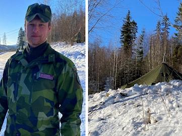 Nu är militären på plats vid norska gränsen