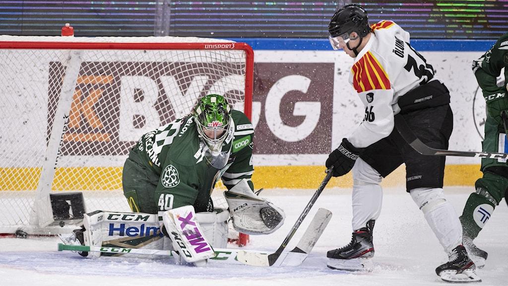 Match mellan Färjestad och Brynäs. Tommy Pedersen/TT arkiv.