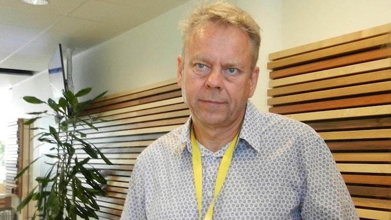 Hans Wennerholm, vd Karlstad Airport. Foto: Roy Malmborg/Sveriges Radio.