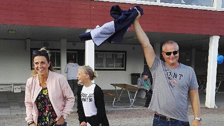 Torbjörn Arenander med familj. Foto: Gunnar Jonasson.