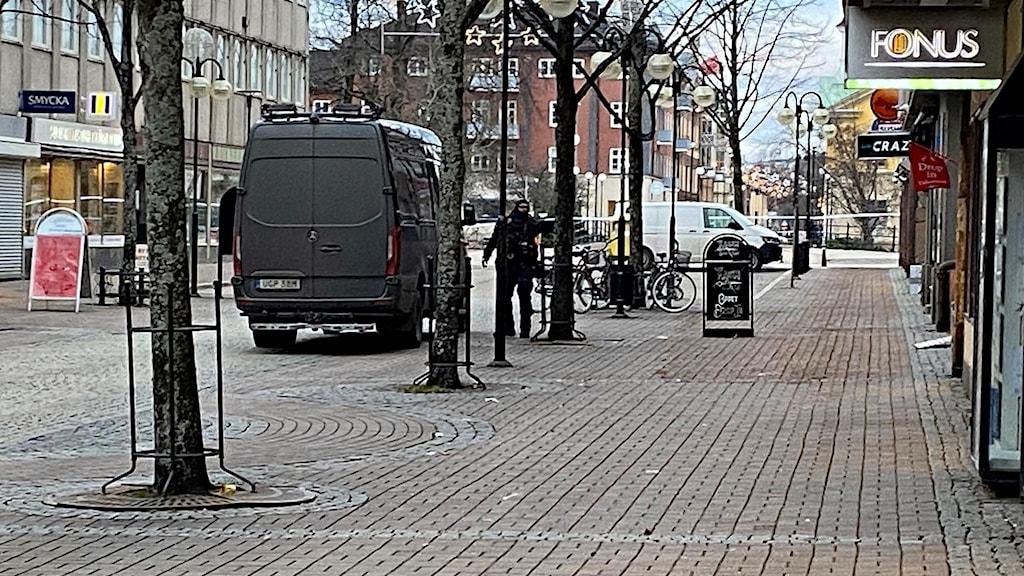 Bombskyddet i Kristinehamn. Foto: Björn Söderholm/Sveriges Radio