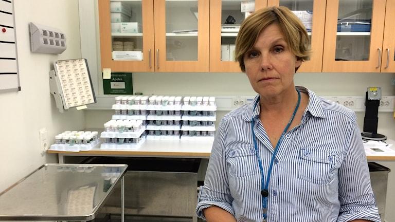 patologen chef cecilia Rolandsson cellprov värmland